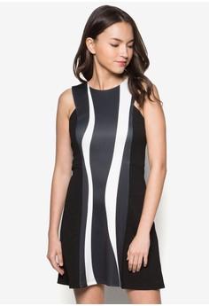 Panel Colourblocked Dress