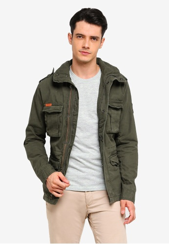 be21e7269e2ca Buy Superdry Classic Rookie Military Jacket Online | ZALORA Malaysia