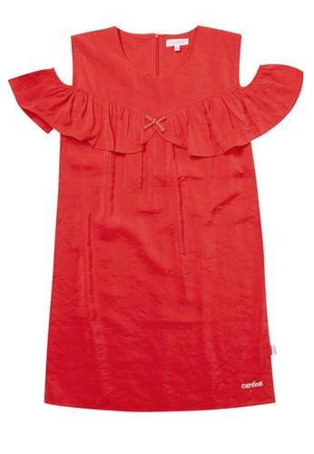 Cardinal Kids red Dress Polos 3BEABKA59461E5GS_1