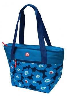 Vivid Floral Iris Cooler Tote 16 Bag