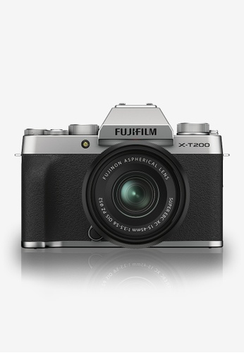 FUJIFILM silver X-T200 15-45MM KIT (Silver) 9765DESD6E0923GS_1