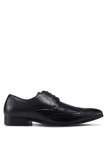 Bata black Lace Up Dress Shoes 77614SH9717DF3GS_1