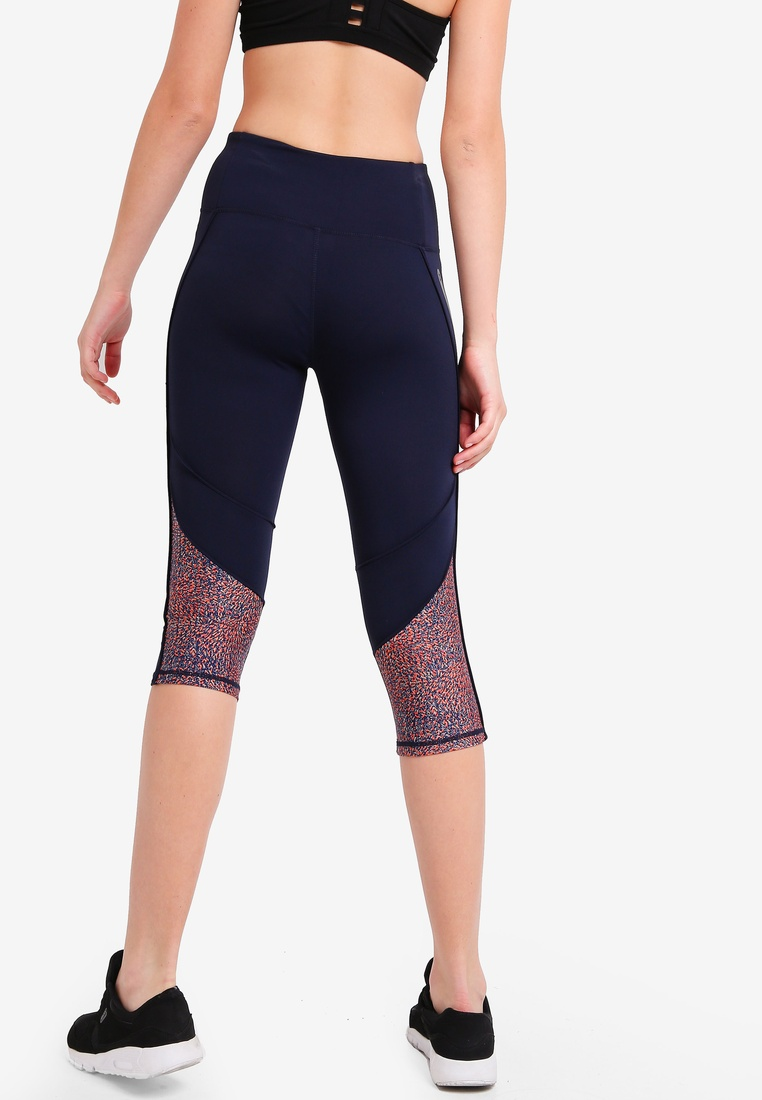 Body It Indigo Run On Cotton Tights Capri Dark wF818q5v