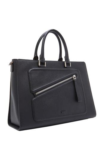 Braun Buffel black Heidi Large Tote Bag FD851ACC337FD1GS_1