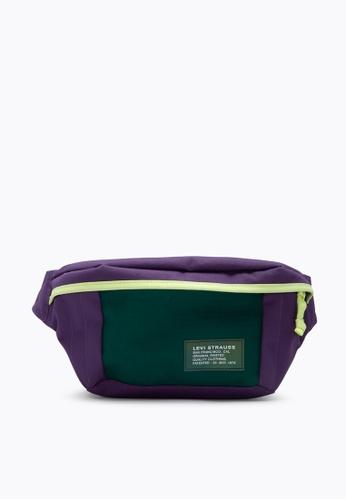 Levi's purple Levi's® Men's Large Banana Sling Bag (38005-0196) 41594AC7666675GS_1