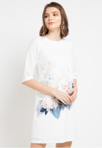 EPRISE white Zuri Dress C521AAA6178AD3GS_1