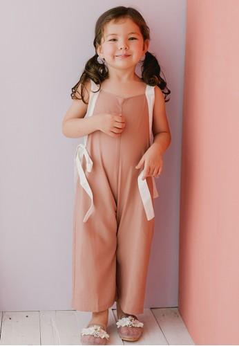 Piccola pink Piccola Lexie Jumpsuit Dusty Pink E5993KA73B5E4FGS_1