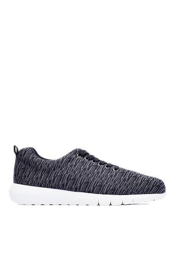 Life8 black Mens Deodorant Insoles Simple Space Sport Shoes-09479-Black LI286SH0RR4XMY_1
