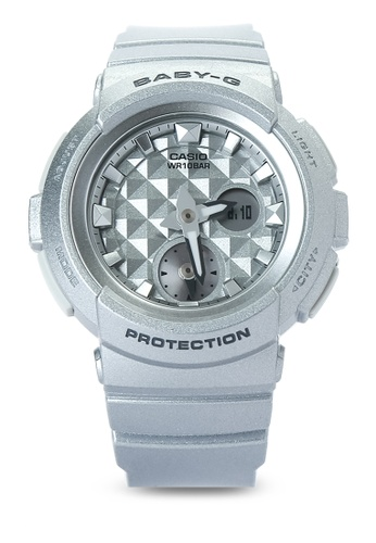 ef0ab6e6d1a37 Shop Casio Casio Baby-G Digital Analog BGA-195-8A Online on ZALORA ...