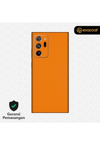 Exacoat Galaxy Note 20 Ultra 3M Skins True Colors - Pumpkin Orange 38772ES110510FGS_1
