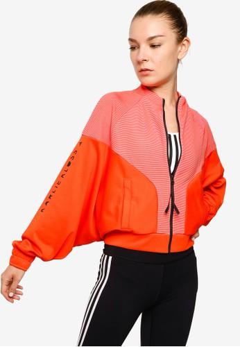 ADIDAS orange karlie kloss cover up jacket B2E14AADE7BCD4GS_1