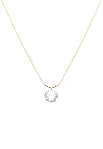 ALDO gold Mealonna Necklace D035CACE8B98A6GS_1