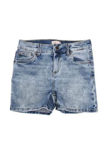 ONLY blue Blush Light Blue Denim Shorts 30290KA418AC18GS_1
