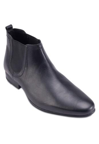 Chelsea 皮革短靴、 鞋、 鞋TopmanChelsea皮革短靴最新折價