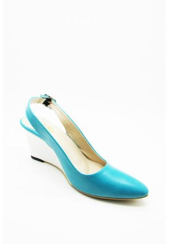 De Velvet blue De Velvet Lindsay Turquoise DE825SH47AIUID_1