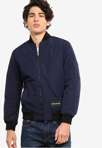 Calvin Klein 黑色 A-飛行外套 - Calvin Klein 牛仔褲 74D55AA1DD4659GS_1