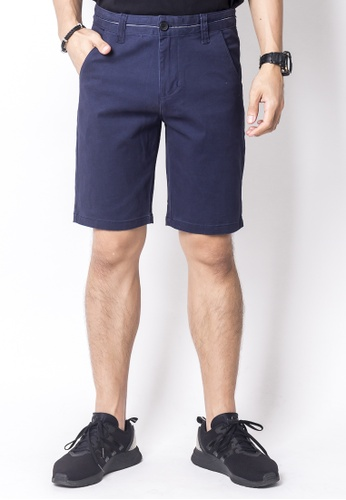 2nd Edition navy Casual Lining Shorts in Navy 2N610AA0FP4QSG_1