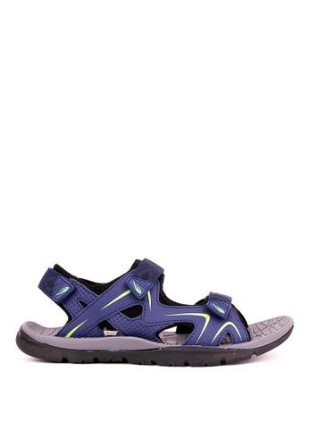 World Balance blue Cliff Jumper MS Sports Sandals 8DB48SH9799CF2GS_1