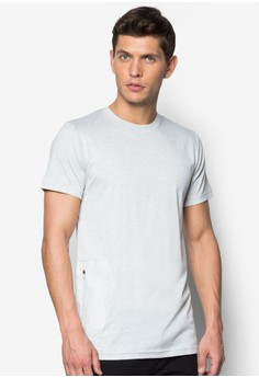 Long Line Tee With Pocket