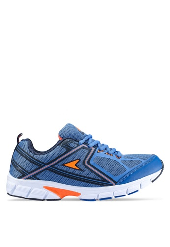 Power navy Athletic Running Shoes 4489BSH16F8B58GS_1