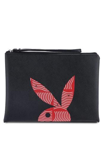 Playboy black Playboy Clutch Bag 2D1B3ACCAE0835GS_1