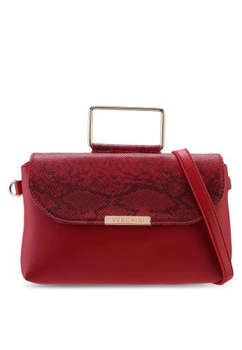 Verchini red Verchini Premium Top Handle Sling Bag 6CD27AC0284E95GS_1