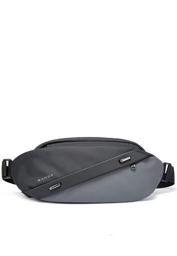 Twenty Eight Shoes grey Splicing Functional Chest Bag TC7295 AB0B1ACFC64EDBGS_1