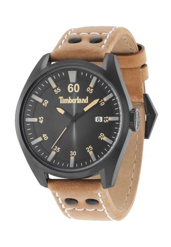 Timberland brown Timberland TBL.15025JSB/02A BELLINGHAM 3 Hands Analog Men Watch 0391DAC59E2F43GS_1