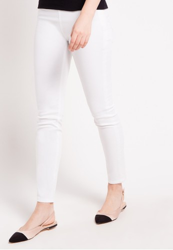 EPRISE white Pants EP457AA80WXZID_1