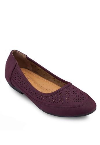 雕花娃娃鞋, esprit sg女鞋, 芭蕾平底鞋