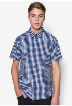 Checked Short Sleeves Shirt