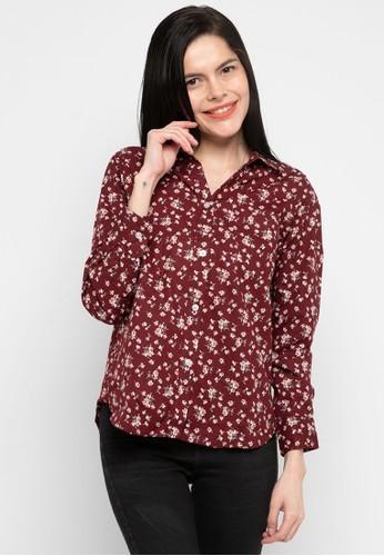 Urban Exchange red Leslie Shirt Motif 41C4DAAB0EA1BAGS_1