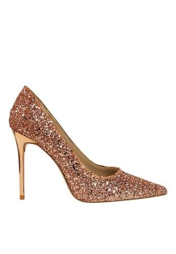 Twenty Eight Shoes 橘色 閃片晚裝及新娘鞋 VP92191 94767SHF05ABE8GS_1