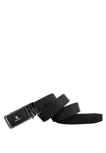 Swiss Polo black 40mm Automatic Belt 29033AC8070B09GS_1