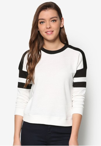 Petite 條esprit 香港紋長袖衫, 服飾, 服飾