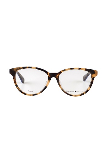 Kate Spade brown Kate Spade Terriann Tortoise Eyeglasses IPR KA433AC05JUSMY_1