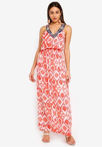 Desigual red Elast Dress BE076AA4E96E2EGS_1