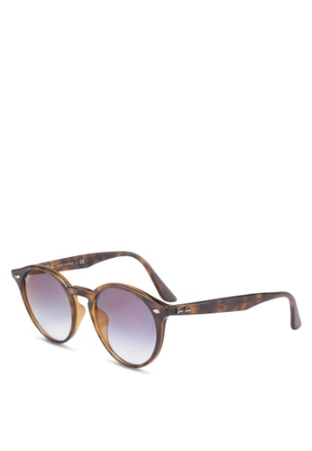 Ray-Ban brown Ray-Ban Highstreet RB2180F Sunglasses 396BFGL17396C1GS_1
