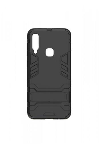 MobileHub black Samsung A30 Hybrid Defender Case with Kickstand B29E9ACF443781GS_1