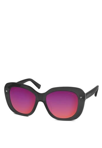 HEX EYEWEAR grey Designer - COCO C. - Sunglasses - Italy Design HE671AC2V1L2HK_1