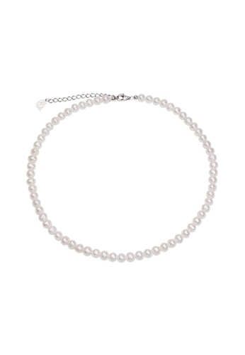 Pearly Lustre silver Pearly Lustre Elegant Freshwater Pearl Necklace WN00105 A2EB1ACAFA1EB3GS_1