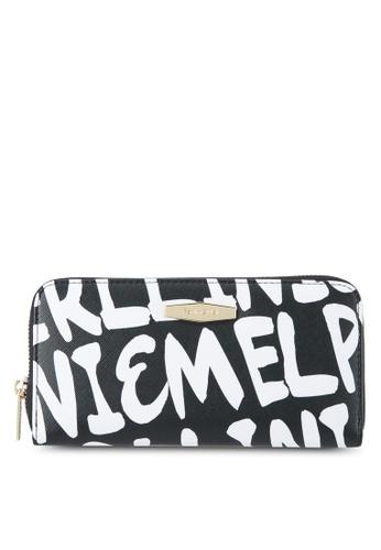 Perllini&Mel black Faux Leather Zip-Up Long Wallet PE444AC0SBNTMY_1