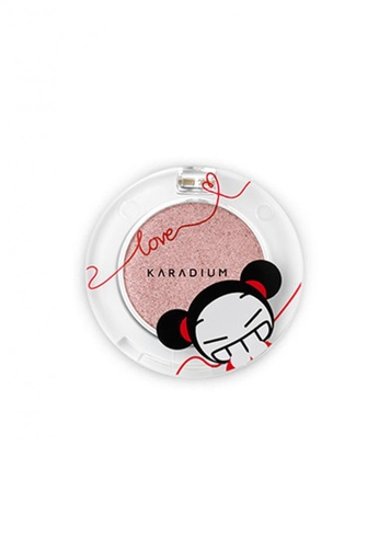 Pucca pink Love Edition Shine Eye Shadow #03 Flower Shine PU312BE75RXWSG_1