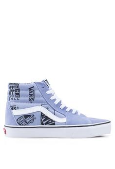 5eaf8f1eaca6d VANS purple SK8-Hi Logo Mix Sneakers 5CEBDSHCC79606GS_1