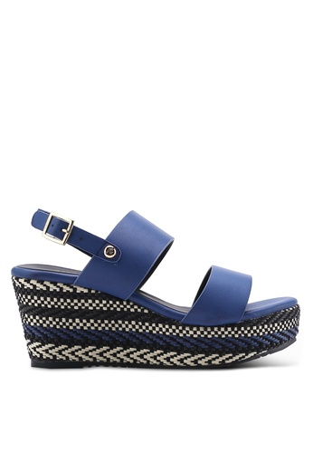 Nose blue Weave Wedges NO327SH25IKKMY_1