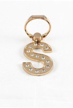 Mobile Ring Holder Letter S