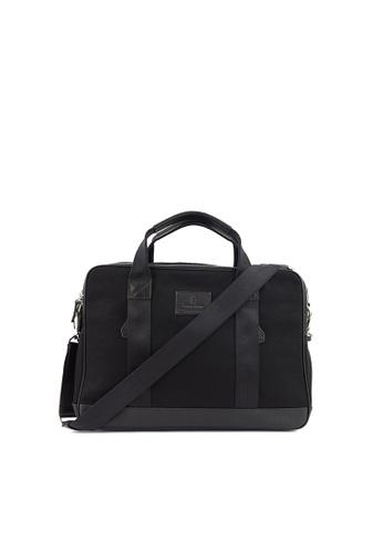 Gnome and Bow black Aspen Briefcase in Jet Black 32509AC0F43260GS_1
