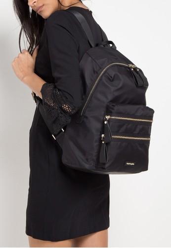 Hush Puppies black Jarrel 3 Zips Backpack 0ABABACC7F54ACGS_1