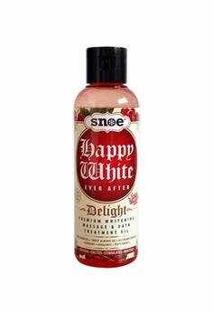 Happy White Ever After Delight Premium Whitening Massage & Bath Treatment Oil