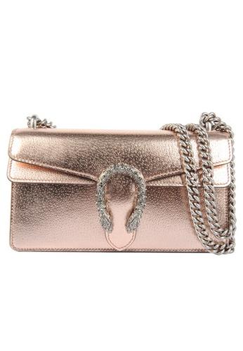 Gucci gold Gucci Dionysus Gg Crossbody Bag in Rose Gold FA3F3ACFC6EBAAGS_1